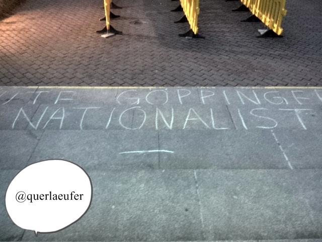 Vor dem Einlass des OLG in München am 27.2.2014(Bild)