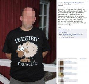 Der Erlös dieses T Shirt geht an die Famile Wohlleben